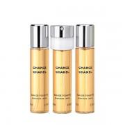 CHANEL - Chance EDT 3×20 ml női újratöltő