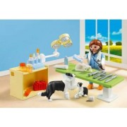 Set Portabil - In Vizita la Veterinar PlayMobil