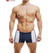 Go Softwear Eros With C Ring Pouch Square Cut Trunk Swimwear Charcoal/White 4510