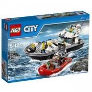 Конструктор ЛЕГО СИТИ - Полицейска патрулна моторница, LEGO City, 60129