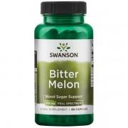 Swanson Hořká Okurka (Bitter Melon) 500 mg 60 kapslí
