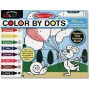 Bloc cu desene de colorat Melissa and Doug