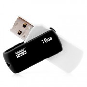USB DRIVE, 16GB, GoodRam UCO2 Black&Wihte, USB2.0 (UCO2-0160KWR11)