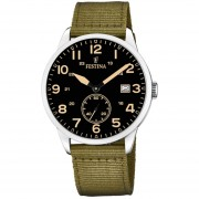 Reloj F20347/4 Verde Militar Festina Hombre Estuche Festina