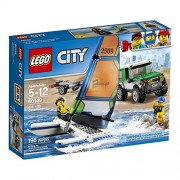 LEGO City Great Vehicles 4x4 with Catamaran 60149 Building Kit