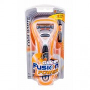 Gillette Fusion Power Cool White 1 ks holicí strojek M