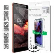 Conjunto de Protecção 4smarts 360 para Nokia 5.1 - Transparente