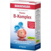 Bakanasan Vitamin-B-Komplex Kapseln 60 Stk.