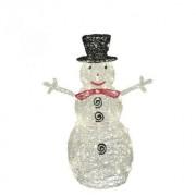 Világító hóember KDA 9 akril