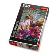 Trefl Puzzle Slagalica Painted Tiger 500 kom (37137)