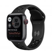 Apple Watch Nike Series 6 GPS + Cellular 40mm Alumínio Cinzento Espacial com Bracelete Nike Sport Antracite/Preto