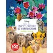 Disney. Prima mea enciclopedie cu autocolante. Animale. Plante