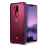 Husa LG G7 ThinQ Ringke FUSION Transparent/Mov