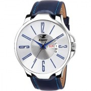 Espoir Analogue White Dial Day and Date Boy's and Men's Watch - Istanbul0507