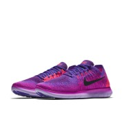 Nike Free RN Flyknit 2017 Damen-Laufschuh - Pink