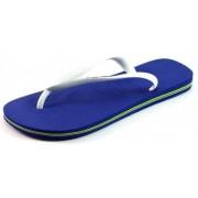 Havaianas Brasil Logo slippers Blauw HAV52