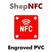 Tag NFC in PVC pantografati con Logo NFC