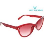 Vast Cat-eye Sunglasses(Grey)