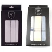 VOICI FRANCE Men's Multicolored Handkerchiefs Super big size 100 Soft Cotton Hankie Pack of 6