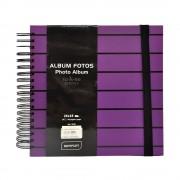ALBUM FOTO 25X 25 CM, 30 PAGINI, T STRIPES MOV Album foto Stripes, 25 x 25 cm, 30 file, mov