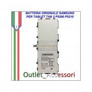 Batteria Pila Originale Samsung Galaxy Tab3 TAB 3 P5200 P5210 T4500E Garanzia Ufficiale