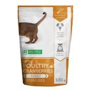 Natures Protection Cat Sterilized Poultry & Cranberries 100 G