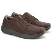Clarks CHARTON VIBE BROWN LEATHER Boat Shoes For Men(Brown)