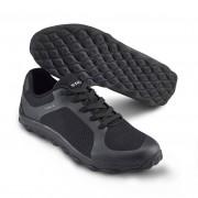 Mjuk arbetssko i sneakersmodell Svart (47)