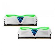 MODULO DDR4 8GB (2X4GB) PC2400 GEIL SUPER LUCE WH
