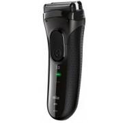 Aparat de ras BRAUN Series 3 3020S, MicroComb (Negru) + Husa cadou