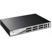 Switch D-Link DES-1210-28P Web Smart 24-Port 2 Gigabit Combo POE