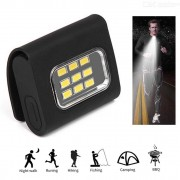 Rechargeable LED Safety Warning Light Magnetic Working Lamp For Running Walking