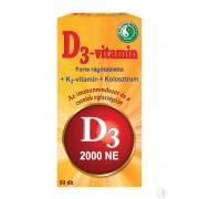 DR.CHEN D3-VITAMIN FORTE RÁGÓTABLETTA 60 DB
