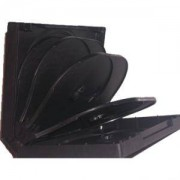 DVD-BOX 22 mm Шесторна черна за DVD