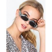 NLY Accessories Slim Rectangular Sunglasses Solglasögon