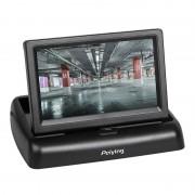 Monitor Auto TFT Peiying, 4.3 inch, 2 intrari video, 5W