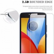 Tempered Glass Screen Protector Guard for Moto E4 (Pack of 1)