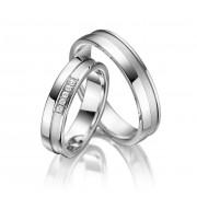 Snubní prsteny ze stříbra SI-05