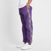 Champion elastic cuff pant Purple/White