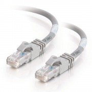 C2G 30m Cat6 550MHz Snagless Patch Cable 30m Cat6 U/UTP (UTP) Grey networking cable