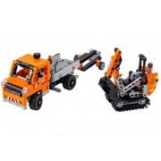 LEGO - ECHIPAJ PENTRU REPARAREA DRUMURILOR (42060)
