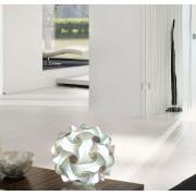 Lampadesign.com Lampada moderna da tavolo colorata per sala soggiorno camera da letto FIOCCO 35 cm MONTATA
