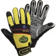 Handschuhe NON-SLIP gelb / schwarz, 1 Paar Größe XL