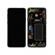 Ecran Cu Touchscreen Si Rama Samsung Galaxy S9 Plus Original Negru