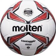 molten Kinder-Fußball F5V3329 (290g) - weiß/rot/silber   5