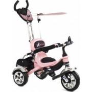 Tricicleta Pentru Copii MyKids Luxury KR01 Roz