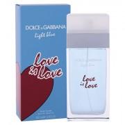 Dolce&Gabbana Light Blue Love Is Love eau de toilette 100 ml donna