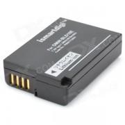 Ismartdigi DMW-BLD10E reemplazo 7.2V 1010mAh bateria para panasonic DMC-GF2 / G3 / GX1 - negro