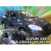 Deflektory komplet 4 ks pre SUZUKI SX4 S-Cross, 2013-