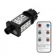 Kül- és beltéri, távirányítós hálózati adapter